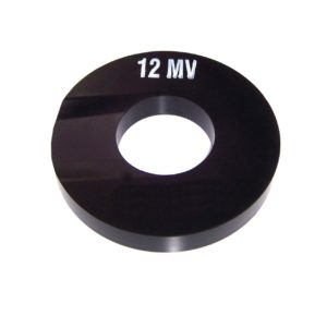 Gasket, Device 12 & 14 Gasket Flat with Scallop, Molded Viton, 5-1/4″OD x 2-1/4″ID x 3/4″th.
