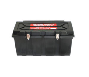 Emergency Kit A Box, 34″ Long x 16.25″ Wide x 16.5″ High.