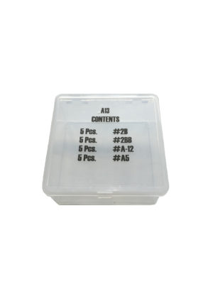 "Plastic Box for Small ""Fiber"" Gaskets."
