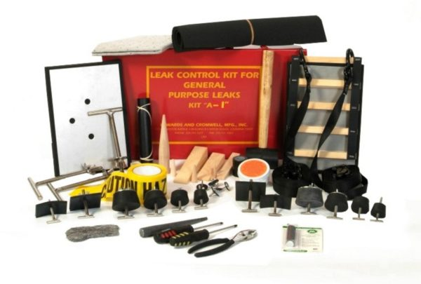 Offset Drum Patching & Plugging Kit with Ladder Patch & Twin T-Patch