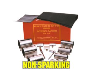 Pipe Patching Kit 1/2″-4″ Pipes Non-Sparking
