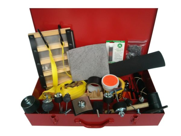 Drum Patching & Plugging Kit with Ladder Patch