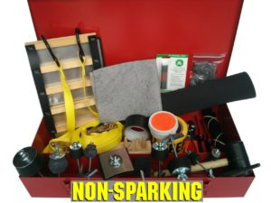 Drum Patching & Plugging Kit with Ladder Patch Non-Sparking
