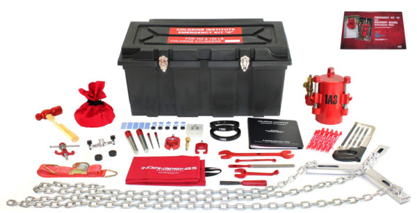 Kit-AD – Chlorine Institute Cylinder Emergency Kit with Instructional DVD