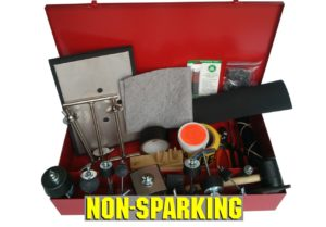 Drum Patching & Plugging Kit with Twin T-Patch Non-Sparking