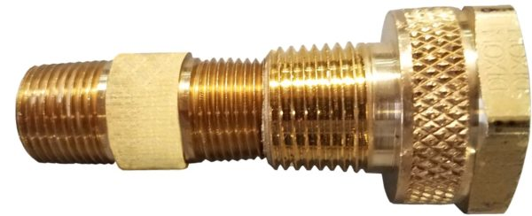 Training Cylinder Check Valve Adapter Assembly
