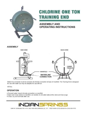 Chlorine One Ton Training End Instructions