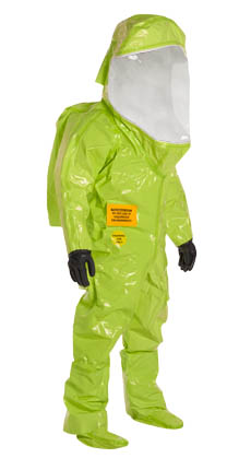 Tychem TRAINING SUIT, Level A, Fully Encapsulating (Front Entry)
