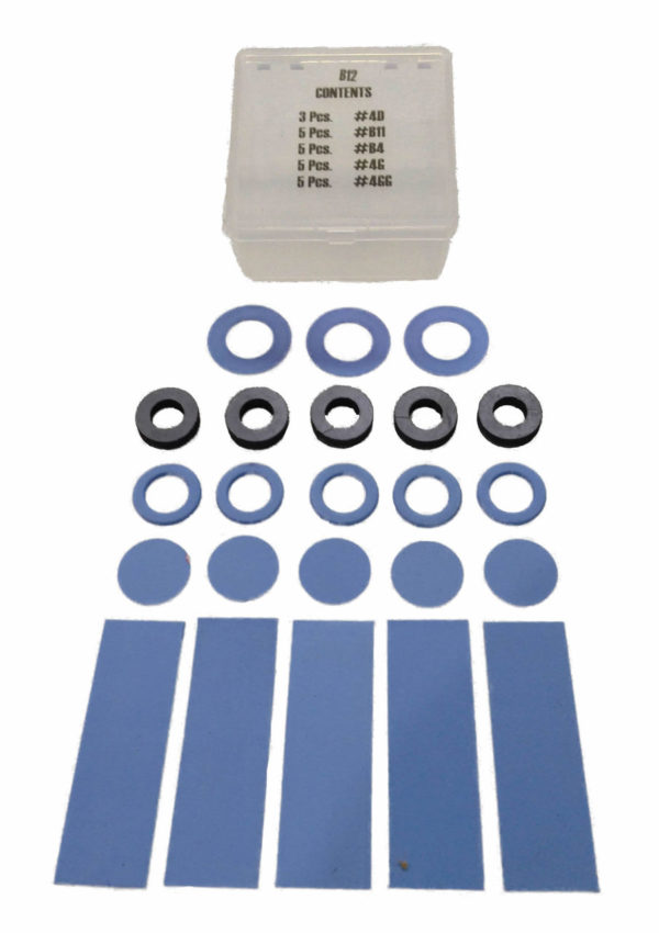 Chlorine Institute Emergency Kit-B Fiber Gasket Set