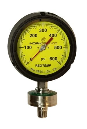 Pressure Gauge Device with Hastalloy C Diaghragm filled with Halocarbon