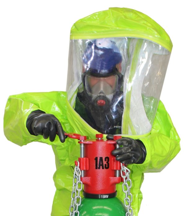 Tychem, Limited Use, Level A, Fully Encapsulating Suit (Rear Entry)